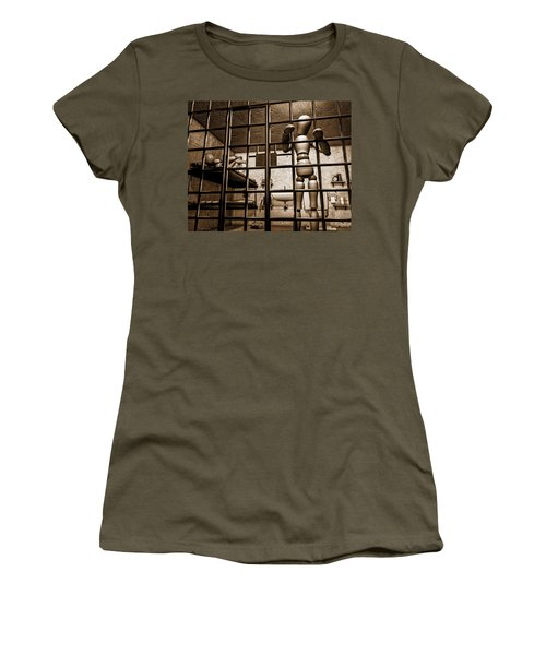 Bail Denied  Women's T-Shirt (Junior Cut) by Bob Orsillo