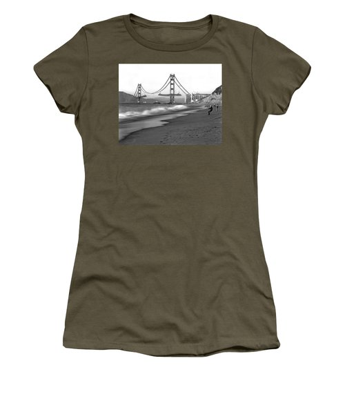Baker Beach In Sf Women's T-Shirt