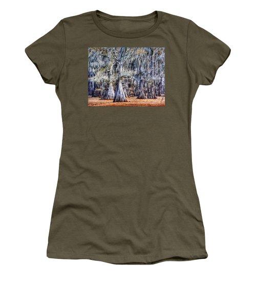 Bald Cypress In Caddo Lake Women's T-Shirt