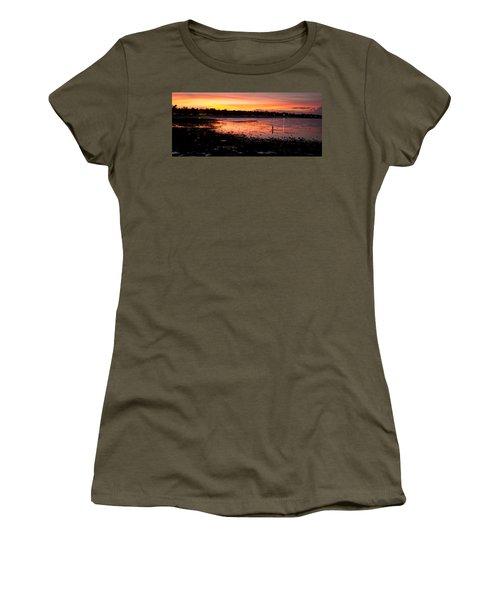 Bali Fisherman Sunset Women's T-Shirt
