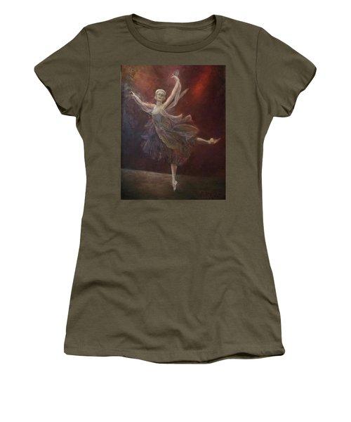 Ballet Dancer Anna Pavlova Women's T-Shirt (Athletic Fit)