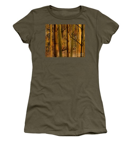 Bamboo Heaven Women's T-Shirt (Athletic Fit)