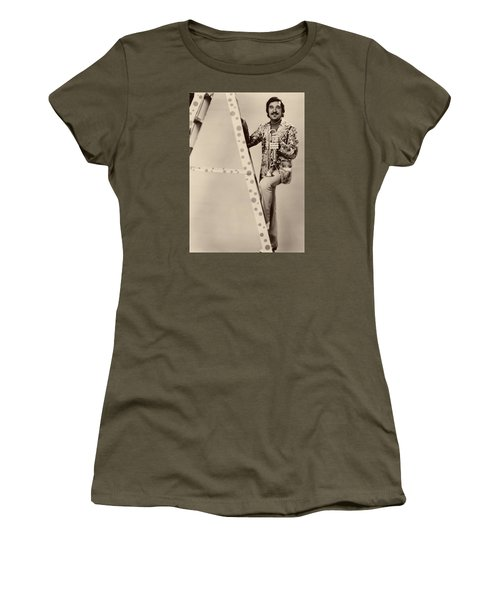 Band Leader Doc Serverinsen 1974 Women's T-Shirt (Junior Cut) by Mountain Dreams
