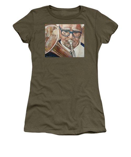Band Man Women's T-Shirt (Junior Cut) by Marty Garland