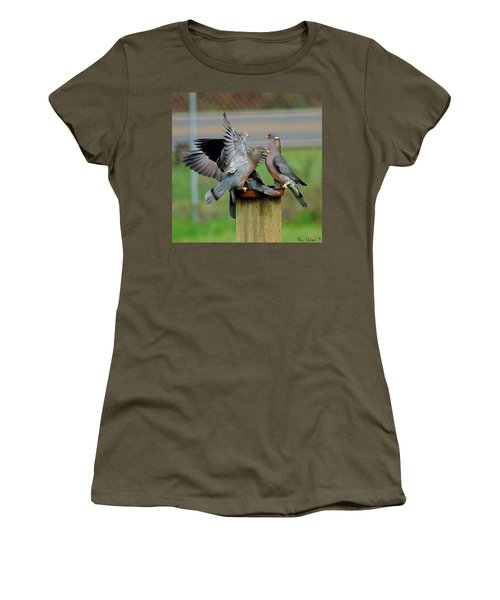 Band-tailed Pigeons #1 Women's T-Shirt