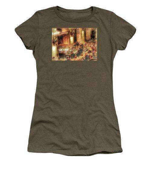 Bar Scene Women's T-Shirt (Athletic Fit)