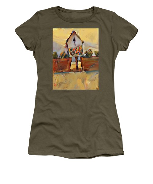 Barb's Bird House Women's T-Shirt (Athletic Fit)