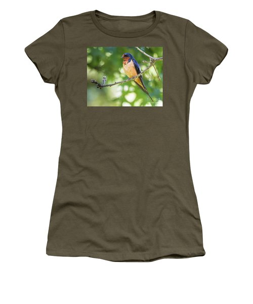 Barn Swallow  Women's T-Shirt