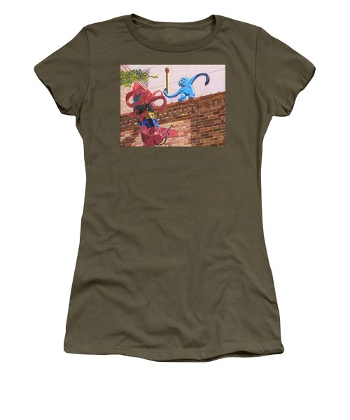 Barrel Of Fun Women's T-Shirt (Athletic Fit)