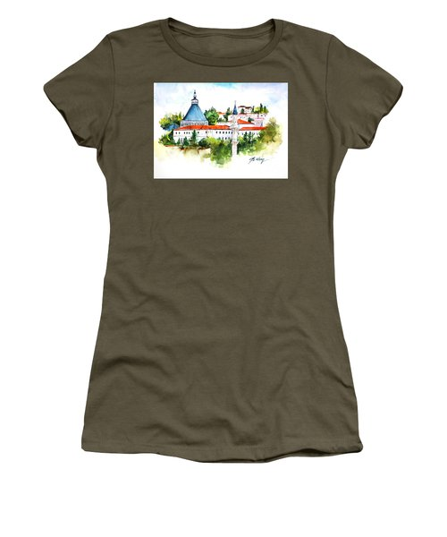 Basilica Of Annunciation, Nazareth Women's T-Shirt (Athletic Fit)