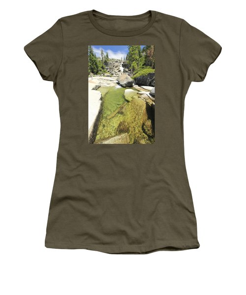 Women's T-Shirt (Athletic Fit) featuring the photograph Bassi Bliss by Sean Sarsfield