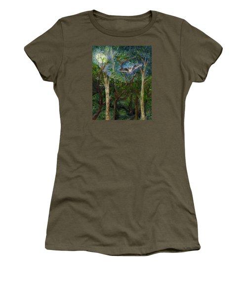 Bat Medicine Women's T-Shirt (Junior Cut) by FT McKinstry