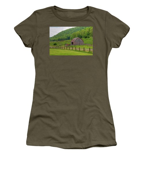 Women's T-Shirt (Junior Cut) featuring the photograph Bath Barn 0428a by Guy Whiteley