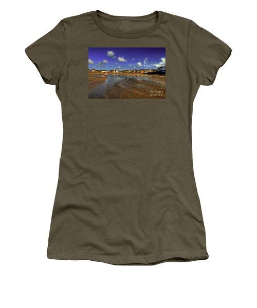 Beach At Perranporth Women's T-Shirt