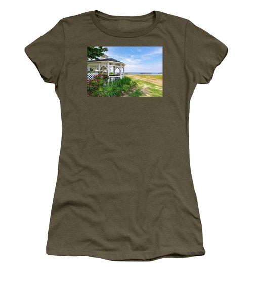 Beach At Rock Hall Women's T-Shirt