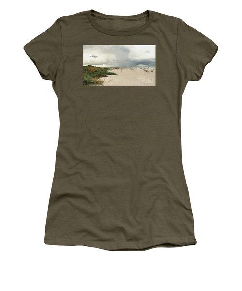 Beach Day Women's T-Shirt (Junior Cut) by Raymond Earley