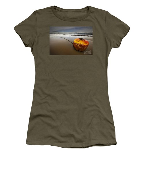 Beached Mooring Buoy Women's T-Shirt