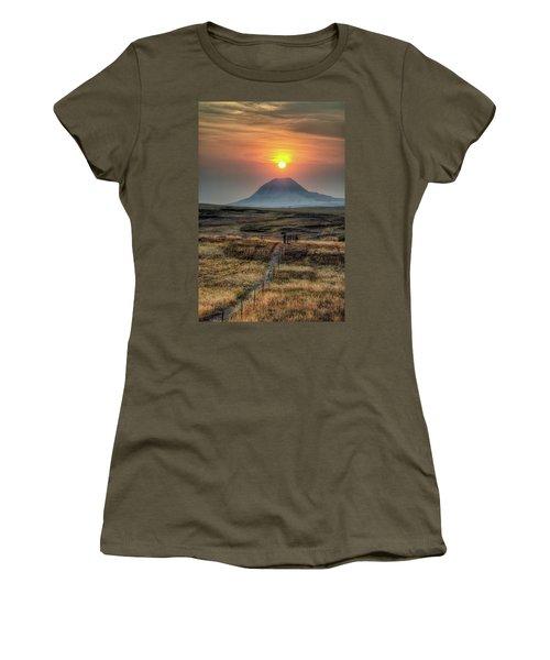 Bear Butte Smoke Women's T-Shirt