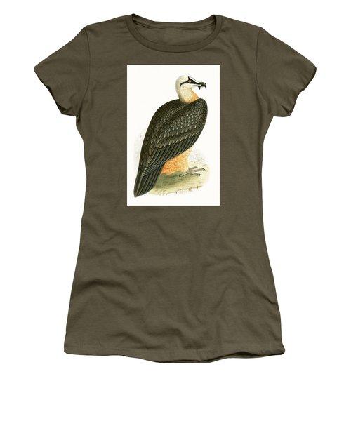 Bearded Vulture Women's T-Shirt (Junior Cut) by English School