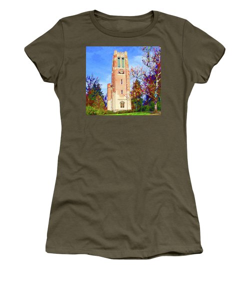 Beaumont Tower Women's T-Shirt (Athletic Fit)