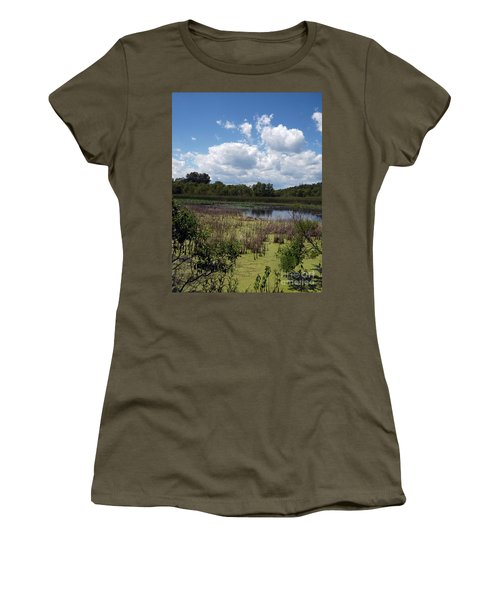 Beautiful Marsh View Women's T-Shirt (Athletic Fit)
