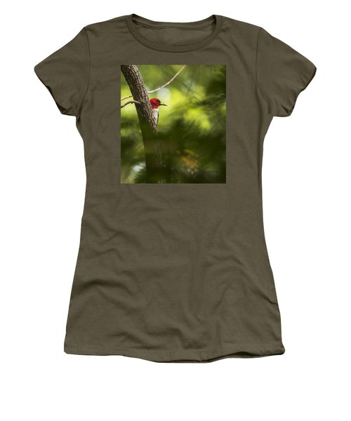 Beauty In The Woods Women's T-Shirt (Athletic Fit)