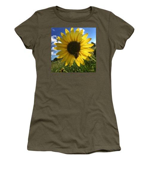 Bee And Sunflower Women's T-Shirt