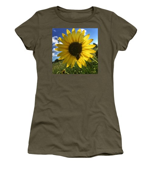 Bee And Sunflower Women's T-Shirt