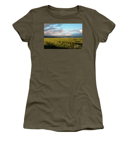 Before The Rainbow Women's T-Shirt (Junior Cut) by Janie Johnson