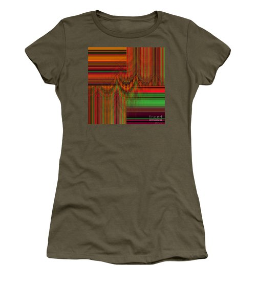 Behind The Drapes Women's T-Shirt (Junior Cut) by Thibault Toussaint