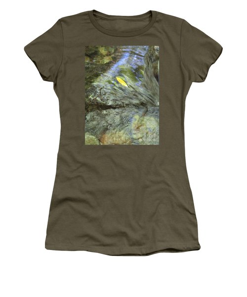 Women's T-Shirt (Athletic Fit) featuring the photograph Being Still by Marie Neder