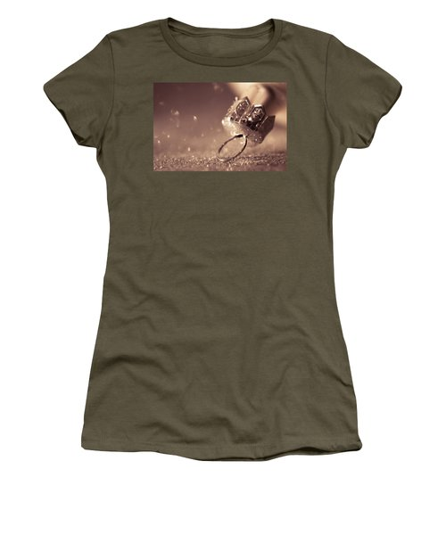 Believe In The Magic Women's T-Shirt (Junior Cut) by Yvette Van Teeffelen
