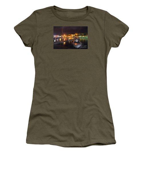 Women's T-Shirt (Junior Cut) featuring the photograph Belizean Night  by Yuri Santin