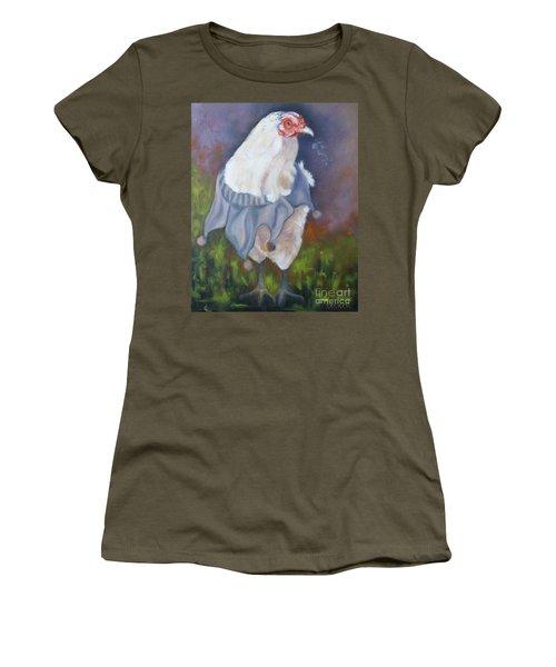Beloved Chicken Women's T-Shirt (Athletic Fit)