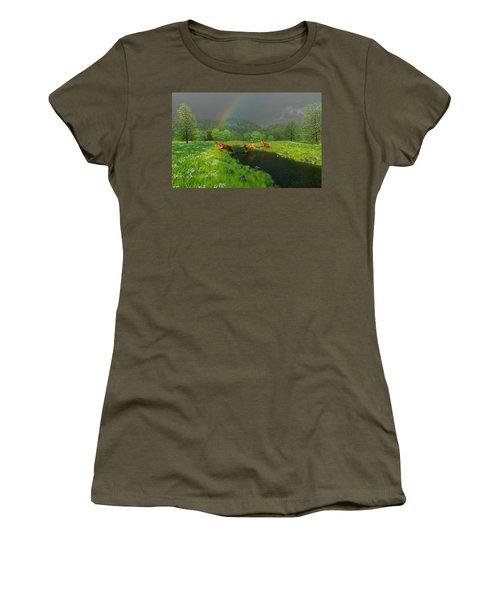 Beneath The Waning Mist Women's T-Shirt