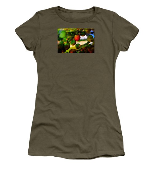 Women's T-Shirt featuring the photograph Berries by Harry Spitz