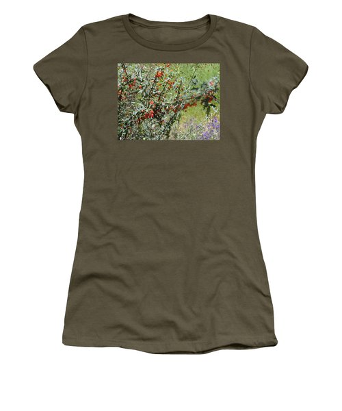 Berries On The Vine Women's T-Shirt (Athletic Fit)