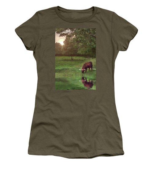 Beside Still Waters Women's T-Shirt (Athletic Fit)