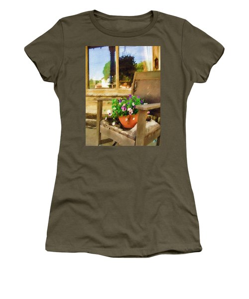 Best Seat In The House Women's T-Shirt (Junior Cut)