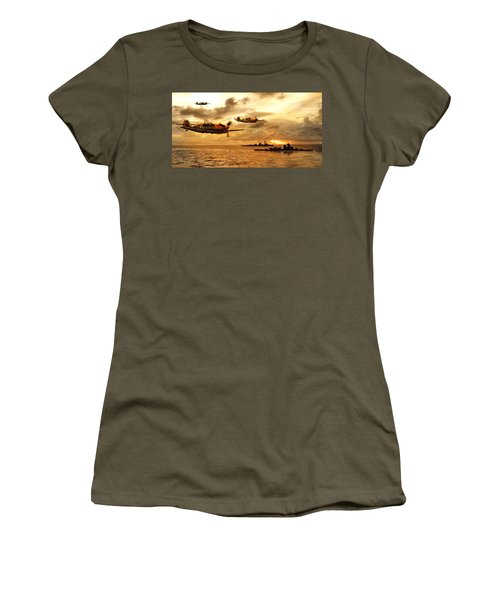 Bf 109 German Ww2 Women's T-Shirt