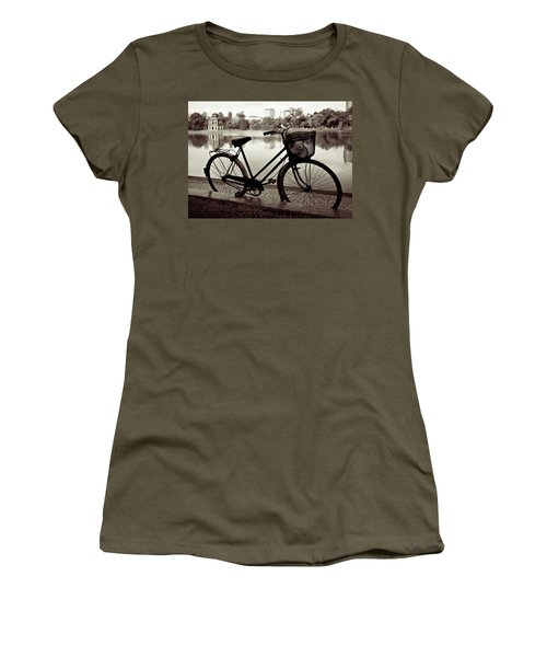 Bicycle By The Lake Women's T-Shirt