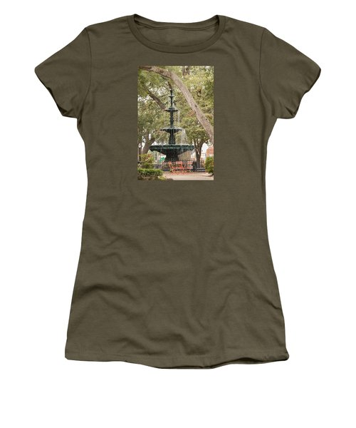 Women's T-Shirt (Athletic Fit) featuring the photograph Bienville Beauty by Julie Andel