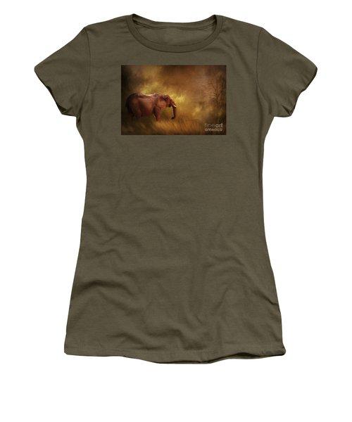 Big Ed Women's T-Shirt (Junior Cut) by Linda Blair