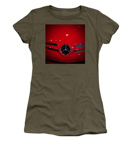 Big Red Smile - Mercedes-benz S L R Mclaren Women's T-Shirt