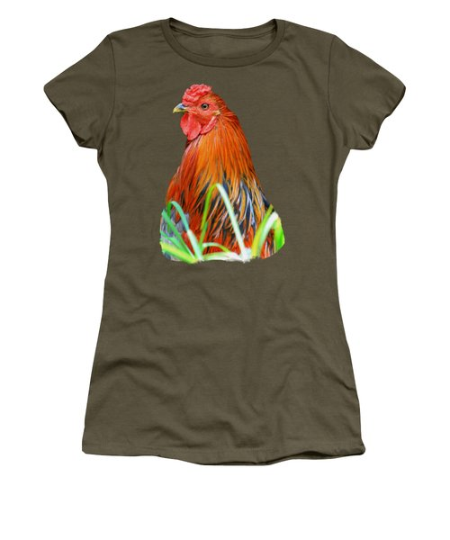 Big Red The Rooster Women's T-Shirt