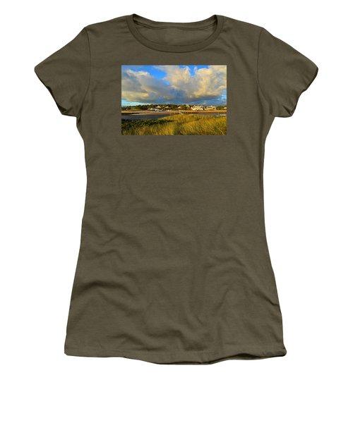 Big Sky Over Sesuit Harbor Women's T-Shirt (Athletic Fit)