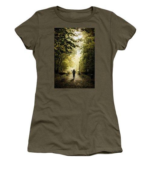 Biker Women's T-Shirt (Athletic Fit)