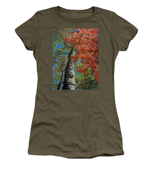 Birch Tree - Minister's Island Women's T-Shirt
