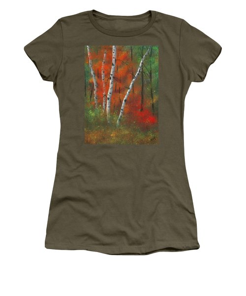 Birches II Women's T-Shirt (Athletic Fit)