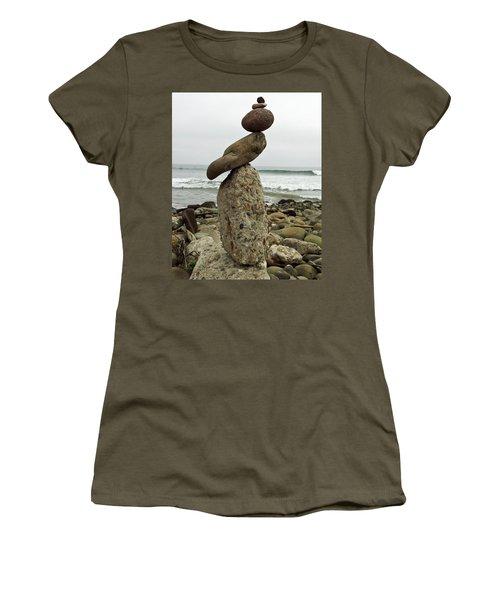 Bird Rock Art Women's T-Shirt (Junior Cut)